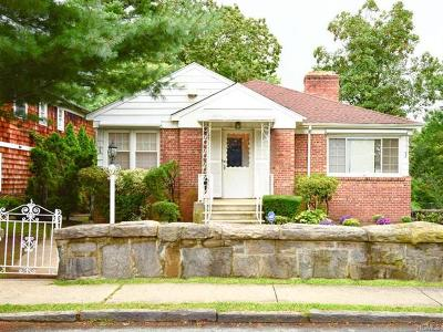 Yonkers Single Family Home For Sale: 138 Alta Avenue