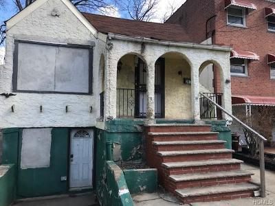 Bronx Single Family Home For Sale: 3478 Kingsland Avenue