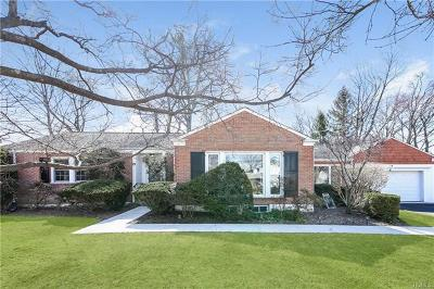 Scarsdale Single Family Home For Sale: 25 Crossway