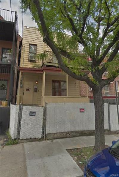 Bronx Single Family Home For Sale: 2047 Bathgate Avenue