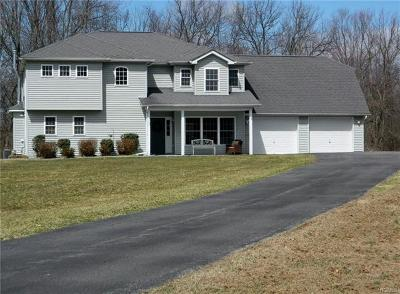 Wallkill Single Family Home For Sale: 115 Huckleberry Turnpike