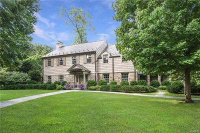 Scarsdale Single Family Home For Sale: 19 Overlook Road