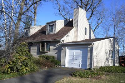 Pleasantville NY Single Family Home For Sale: $610,000