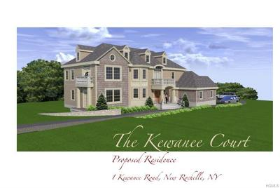 New Rochelle Single Family Home For Sale: 1 Kewanee Road