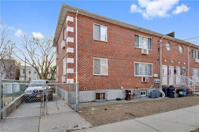 Bronx Multi Family 2-4 For Sale: 4087 Edson Avenue #1