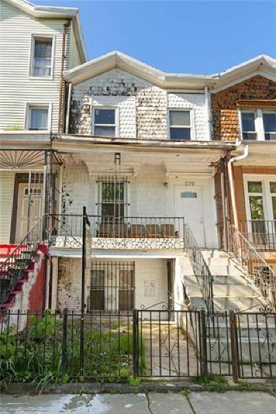 Brooklyn Multi Family 2-4 For Sale: 970 Bergen Street
