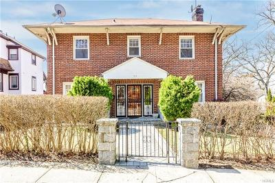 Yonkers Single Family Home For Sale: 59 Ridge Drive