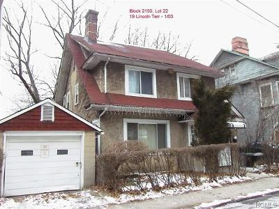 Yonkers Single Family Home For Sale: 19 Lincoln Terrace