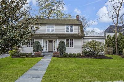 Bronxville Single Family Home For Sale: 4 Sherman Avenue