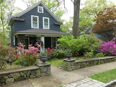 Hastings-On-Hudson Single Family Home For Sale: 335 Mount Hope Boulevard