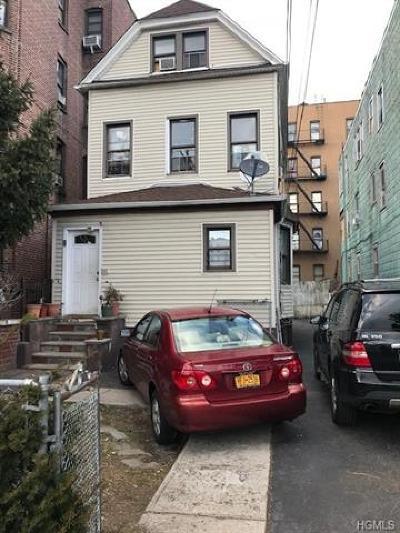 Yonkers Multi Family 2-4 For Sale: 59 Radford Street