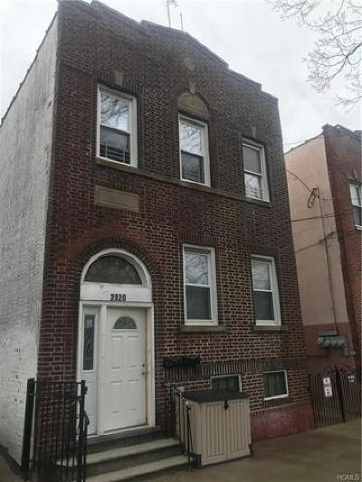 Bronx Multi Family 2-4 For Sale: 2820 Zulette Avenue