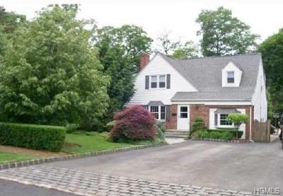 Suffern Single Family Home For Sale: 3 Hillside Avenue