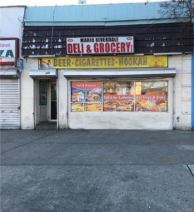 Commercial For Sale: 264 Riverdale Avenue