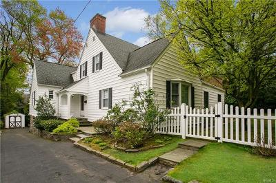Scarsdale Single Family Home For Sale: 435 Fort Hill Road