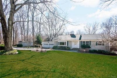 Armonk Single Family Home For Sale: 17 Byram Brook Place