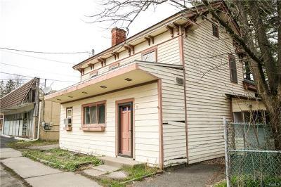 Wurtsboro Multi Family 2-4 For Sale: 82 Sullivan Street
