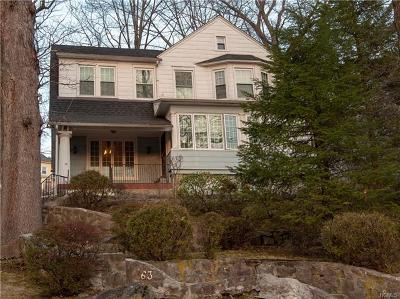 New Rochelle NY Single Family Home For Sale: $600,000