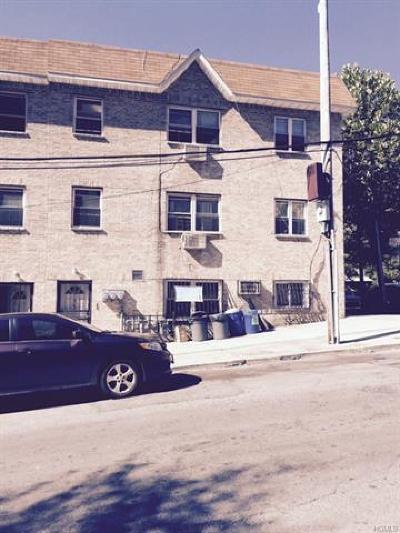 Bronx Multi Family 2-4 For Sale: 960 East 181st Street