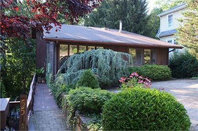 Croton-On-Hudson Single Family Home For Sale: 55 A High Street