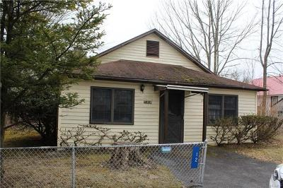 South Fallsburg NY Single Family Home For Sale: $39,000