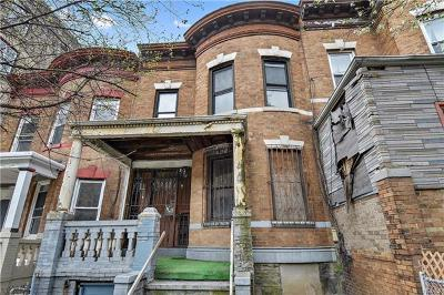 Bronx Multi Family 2-4 For Sale: 114 West 190th Street