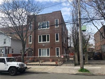 Bronx Multi Family 2-4 For Sale: 1465 Rowland Street