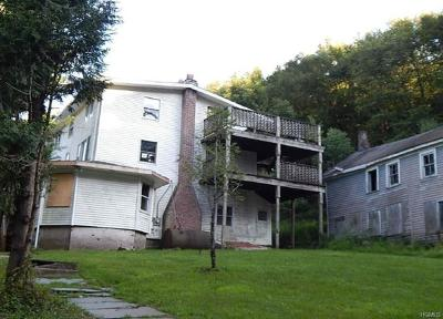 Mountain Dale NY Single Family Home For Sale: $111,300
