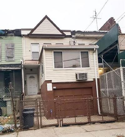 Bronx Multi Family 2-4 For Sale: 1997 Arthur Avenue