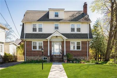 New Rochelle NY Single Family Home For Sale: $549,000