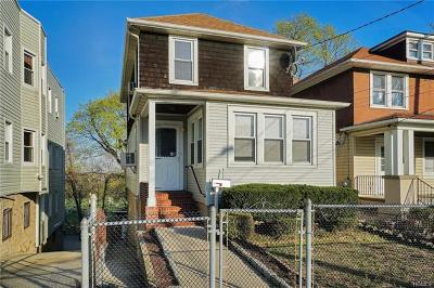 Yonkers Single Family Home For Sale: 288 Prescott Street