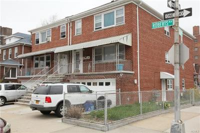 Bronx Multi Family 2-4 For Sale: 2887 Roberts Avenue