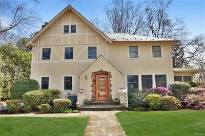 Scarsdale NY Single Family Home For Sale: $1,300,000