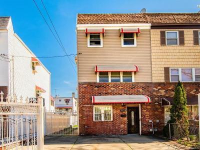 Bronx NY Single Family Home For Sale: $535,000