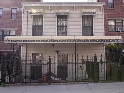Bronx Single Family Home For Sale: 647 Eagle Avenue