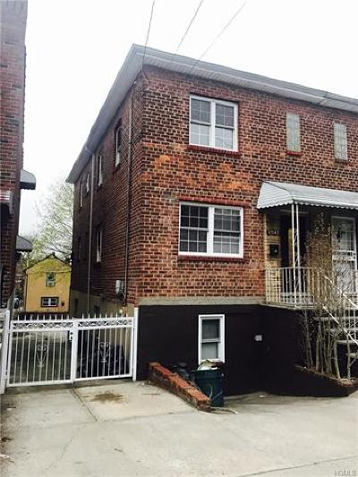 Bronx Single Family Home For Sale: 4047 Wilder Avenue
