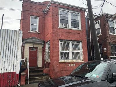 Bronx Multi Family 2-4 For Sale: 611 Casanova Street
