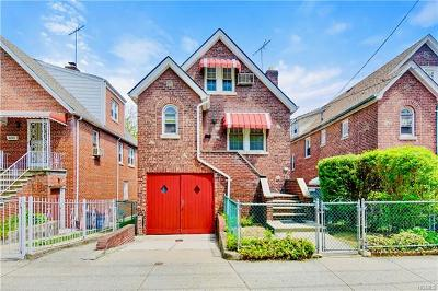 Bronx Single Family Home For Sale: 4226 Bruner Avenue