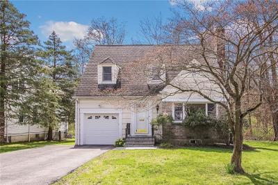 Scarsdale NY Single Family Home For Sale: $1,099,000