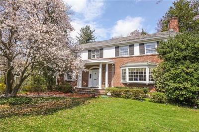 Scarsdale Single Family Home For Sale: 165 Mamaroneck Road