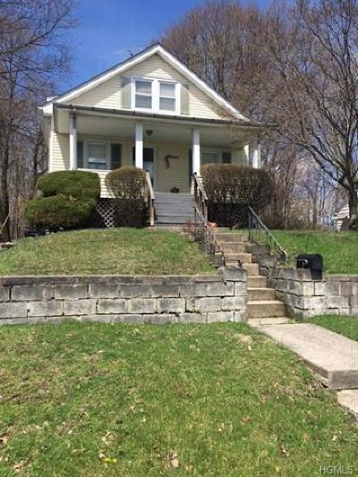 Middletown NY Single Family Home For Sale: $120,000