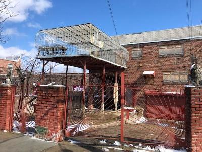 Bronx Multi Family 2-4 For Sale: 356 Soundview Avenue
