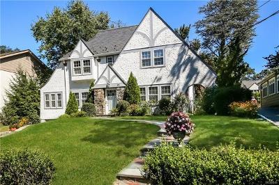 Scarsdale Single Family Home For Sale: 25 Mount Joy Avenue