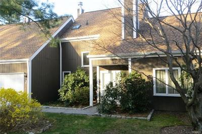 Chappaqua Condo/Townhouse For Sale: 2 Meadow Trail