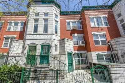 New York Multi Family 2-4 For Sale: 121 West 117th Street