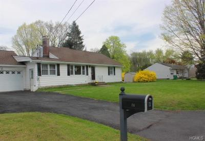 Dutchess County Single Family Home For Sale: 26 Homer Place