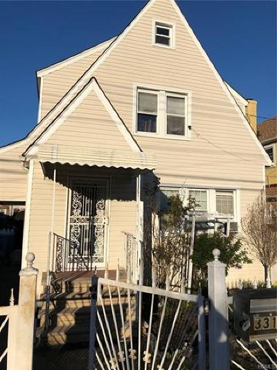 Bronx Single Family Home For Sale: 3314 Kingsland Avenue