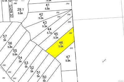 Residential Lots & Land For Sale: 67 Sparrowbush Estates Drive