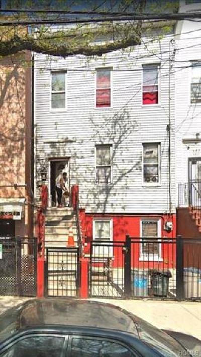Bronx Single Family Home For Sale: 1209 Tinton Avenue