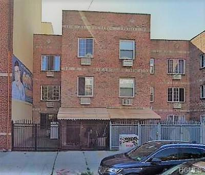 Bronx Multi Family 2-4 For Sale: 1502 Vyse Avenue